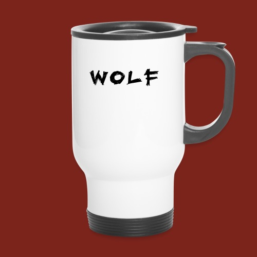 Wolf Font png - Thermosmok met draagring