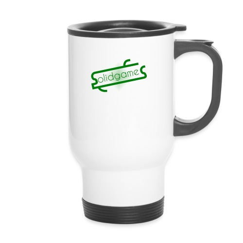 Solidgames Crewneck Grey - Thermal mug with handle
