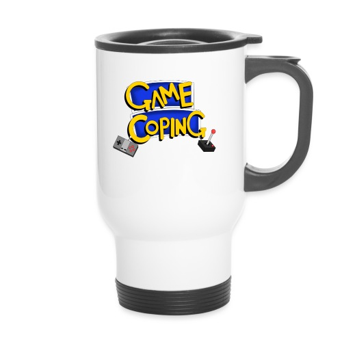 Game Coping Logo - Thermal mug with handle