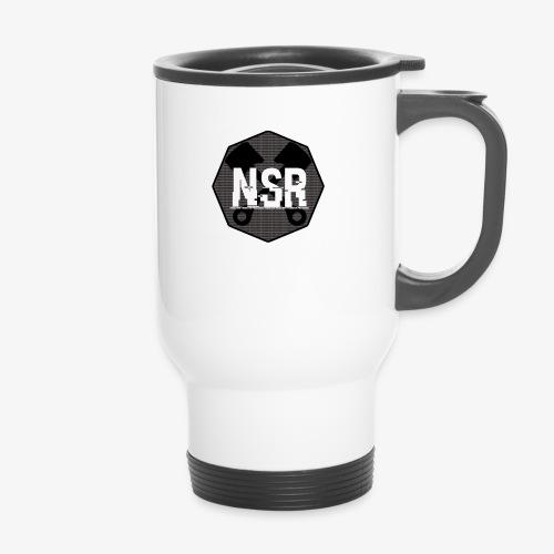NSR B/W - Kahvallinen termosmuki