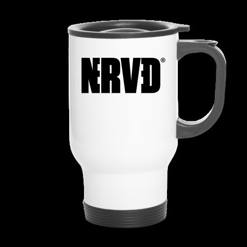 Official Nerved® Logo Black - Travel Mug