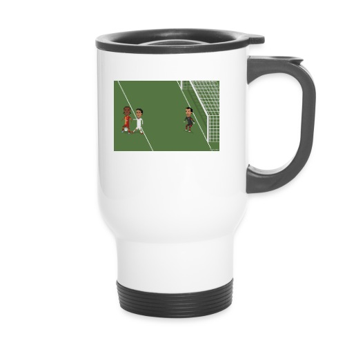 Backheel goal BG - Thermal mug with handle
