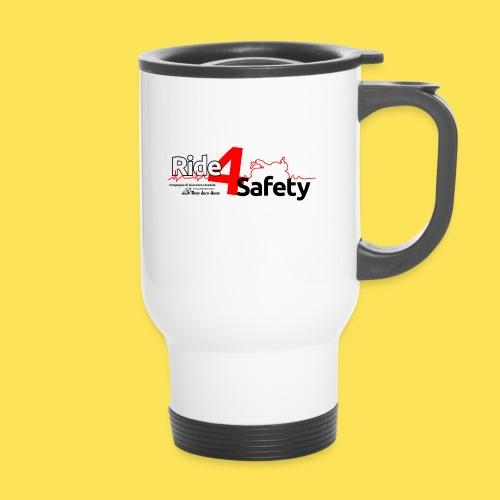 Ride4Safety - Tazza termica con manico per il trasporto