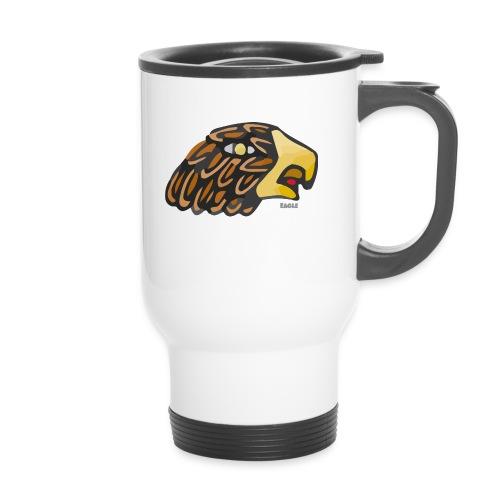 Aztec Icon Eagle - Thermal mug with handle