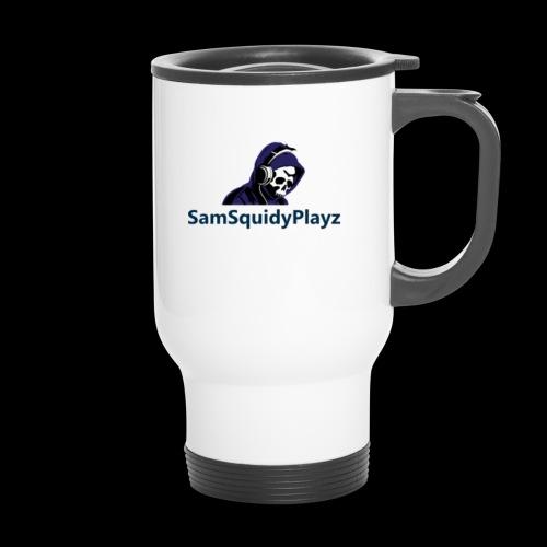 SamSquidyplayz skeleton - Travel Mug