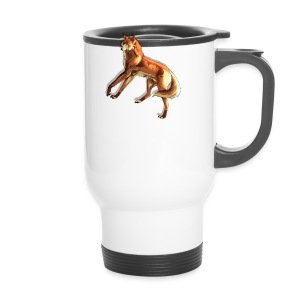 Fox of the night - Travel Mug