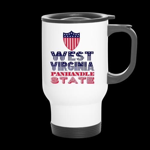 west virginia panhandle - Travel Mug