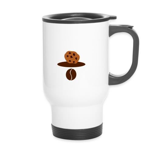 Cookies Kaffee Nerd Geek - Thermobecher