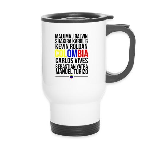 Reggaeton Shirt Kolumbien - Thermobecher