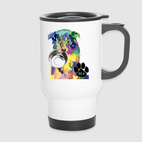 #AdoptDontShop - Travel Mug
