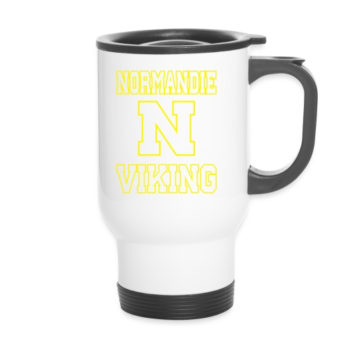 Normandie Viking Def jaune - Mug thermos
