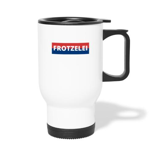 FROTZELEI - Polizeikontrolle Geschenk Autofahrer - Thermobecher