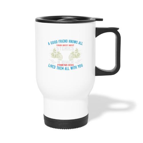 Biker stories. - Travel Mug
