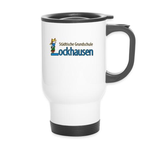 logoGsLockhausen - Thermobecher mit Tragegriff