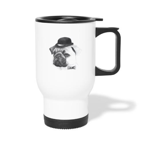 pug with bowler - Termokrus