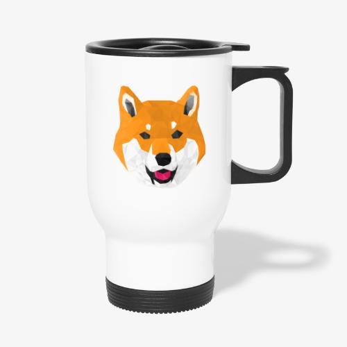 Shiba Dog - Tasse isotherme avec poignée