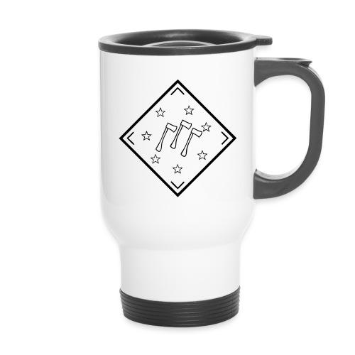 klapaset_logo - Kahvallinen termosmuki