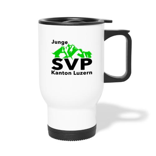 Junge SVP Kanton Luzern - Thermobecher mit Tragegriff