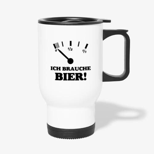 Bier Tankanzeige - Thermobecher