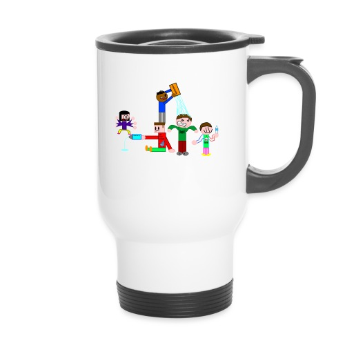 Water Fight - Thermal mug with handle