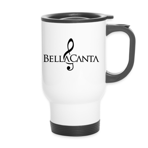 bellacanta logo - Kahvallinen termosmuki