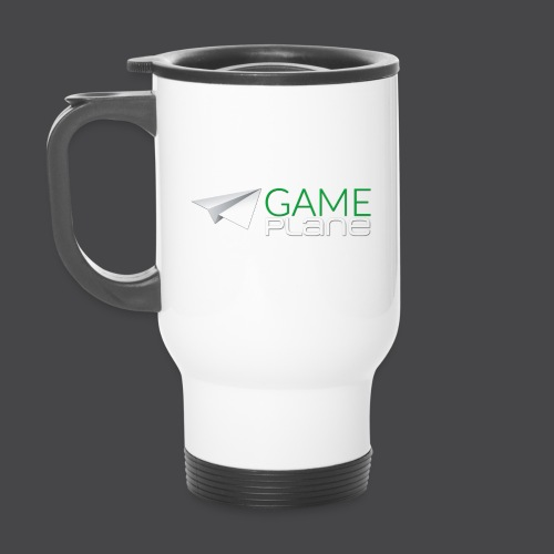 Gameplane Logo groß Relief png - Thermobecher