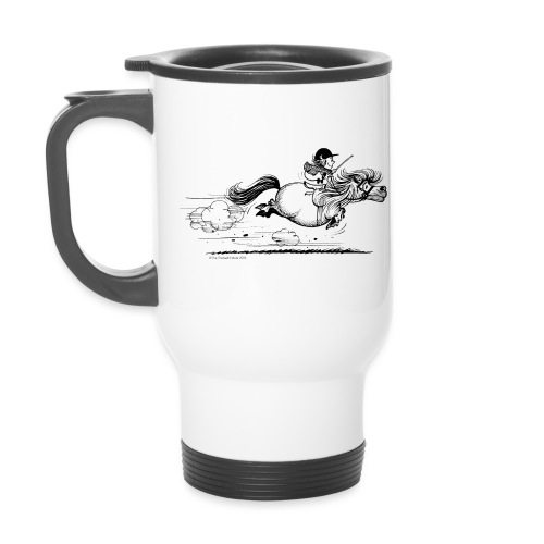 Thelwell Cartoon Pony Sprint - Thermobecher