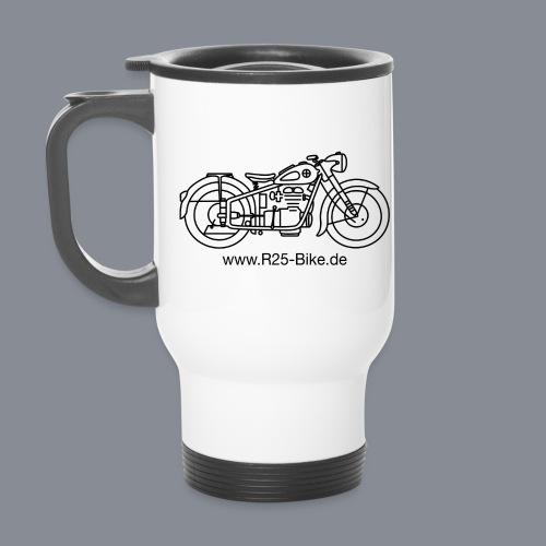 Motorrad_CS2_schwarz - Thermobecher
