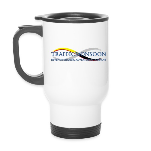 logo1TM_w - Thermal mug with handle