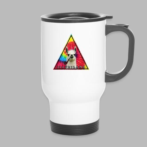 Illumilama logo T-shirt - Thermal mug with handle