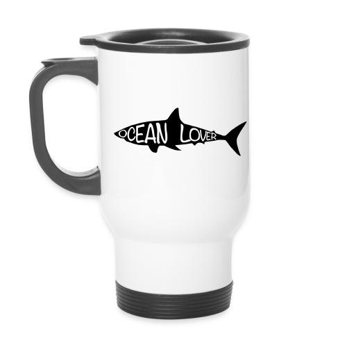 The Shark - Le Requin - Tasse isotherme avec poignée
