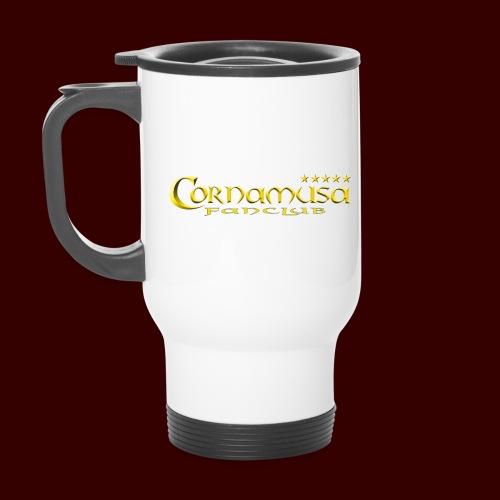 Cornamusa Fanclub Logo - Thermobecher mit Tragegriff