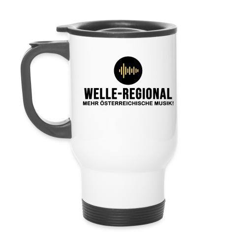 Das Logo von Welle-Regional! - Thermobecher mit Tragegriff