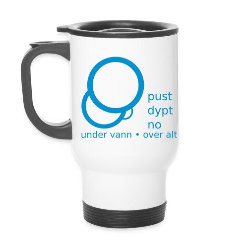 Pust Dypt logo - Termokopp med håndtak
