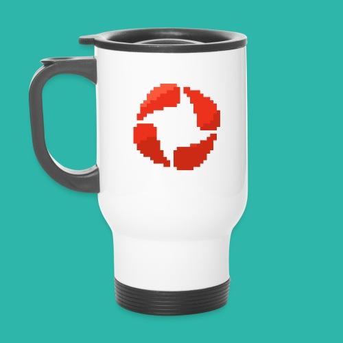 t png - Thermal mug with handle