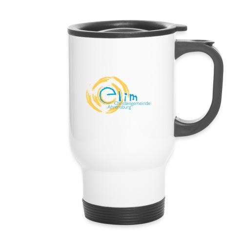 Elim Logo RZ261010 jpg - Thermobecher mit Tragegriff