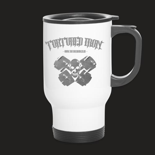 skull - Thermal mug with handle