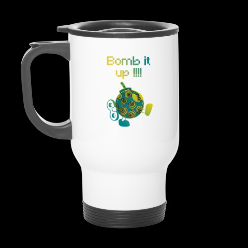 Bomb It Up : Green Power !!! - Mug thermos