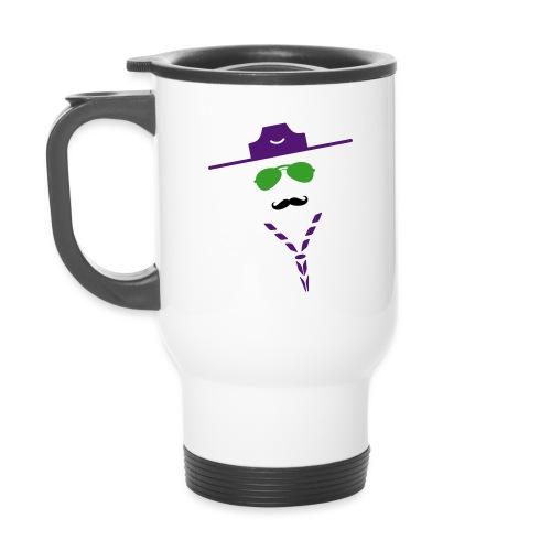 moustache - Travel Mug