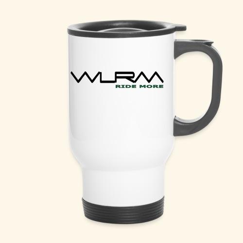 WLRM Schriftzug black png - Thermobecher mit Tragegriff