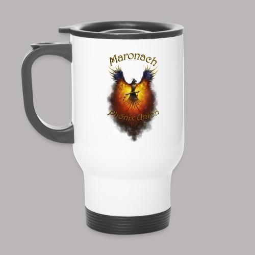 Maronach-und-Logo - Thermobecher mit Tragegriff