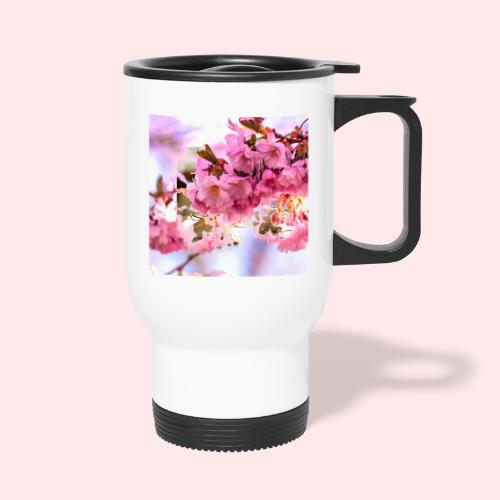 cup saucer pen fl jpg - Thermal mug with handle