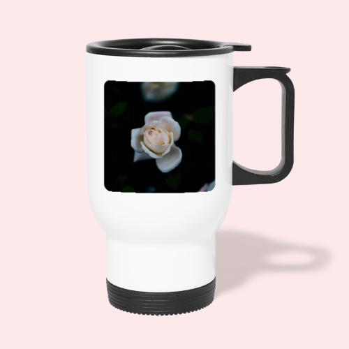 white roseflsq Curv 2 png - Thermal mug with handle