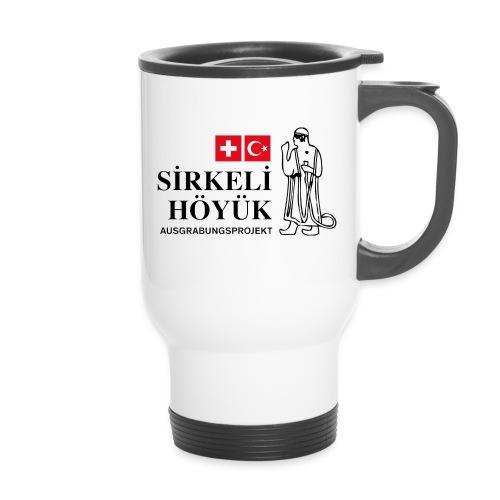 Logo schwarz mittel png - Travel Mug