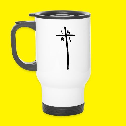 Cross - INRI (Jesus of Nazareth King of Jews) - Travel Mug