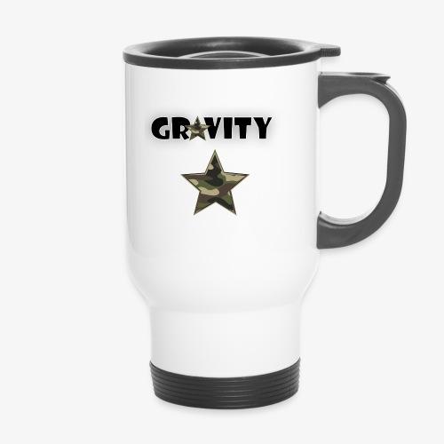 camo star - Thermal mug with handle