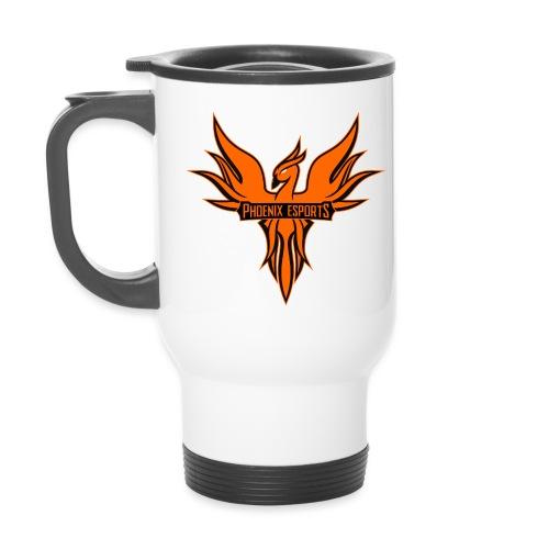 Phoenix Mascot 3Farben - Thermobecher
