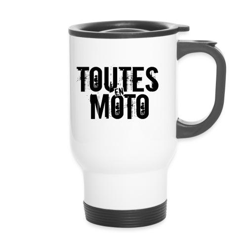 Logo TEM transparent noir png - Mug thermos