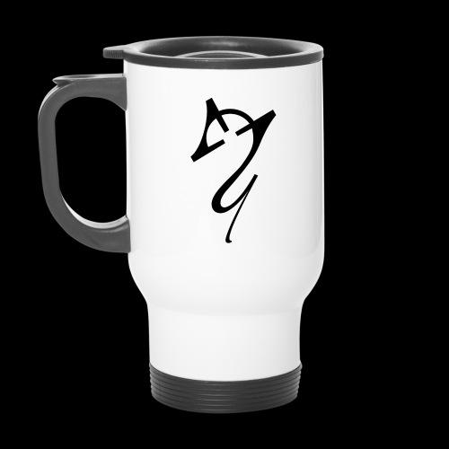 Overscoped Logo - Thermal mug with handle