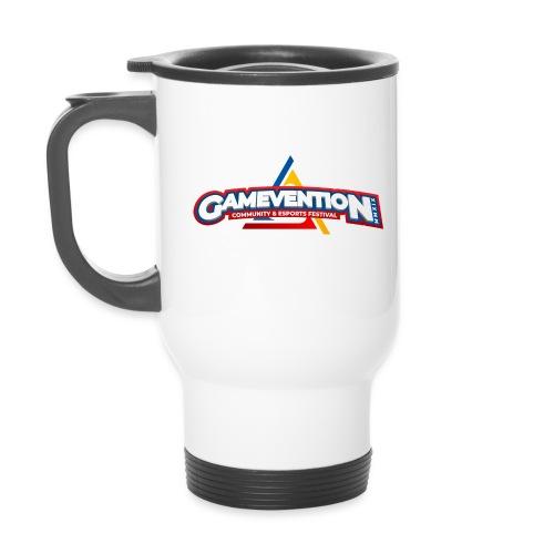 Logo GAMEVENTION MMXIX (Linkshänder) - Thermobecher